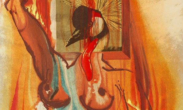 Phénix de Salvadore Dali